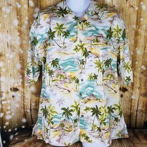 Kona Kai Trading Co. Mens sz XL Aloha shirt Hawaii